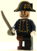 lego pirates caribbean minifig hector barbossa