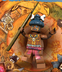 lego pirates caribbean minifigure cannibal number