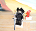 lego blackbeard mini figure 'pirates caribbean'