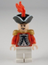 lego pirates caribbean king george's officer