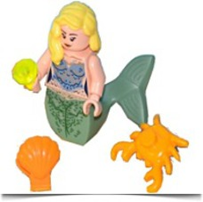 Blonde Mermaid Mini Figure Includes