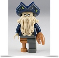 Davy Jones Mini Figure Captain