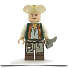 Specials Pirates Of The Caribbean Cook Minifigure