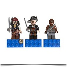 Specials Pirates Of The Caribbean Magnet Set