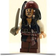 Buy Now Pirates Of The Caribbean Minifig Captain