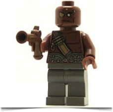 Pirates Of The Caribbean Minifig Gunner