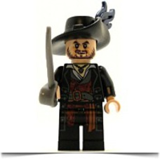 Buy Now Pirates Of The Caribbean Minifig Hector