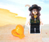 lego angelica mini figure 'pirates caribbean'