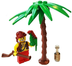 lego pirate minifigure pirates building palm