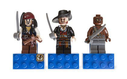 Pirates Of The Caribbean Magnet Set