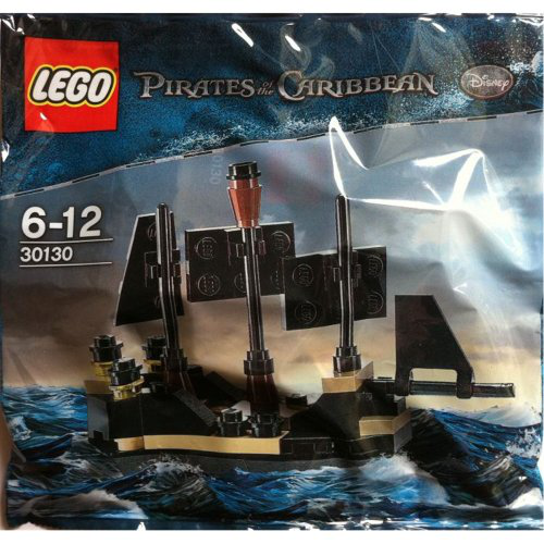 Lego Mini Black Pearl Pirates Of The Caribbean Set 30130
